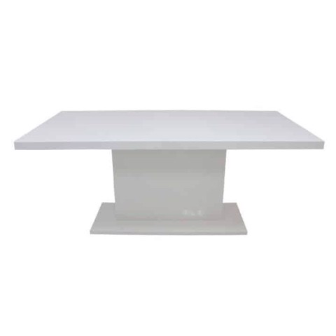 Bàn ăn - DINING TABLE JOCASTA#DM-180/ HG WHITE/ 19044825