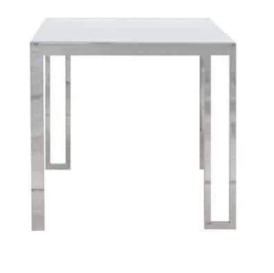 Bàn ăn - TABLE MONTIS#2/DN80/WHITE/STAINLESS