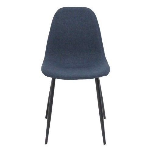 Ghế ăn - CHAIR/ANDA/BLACK/DARK BLUE