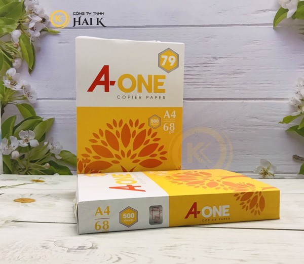 Giấy A4 A One 68gsm