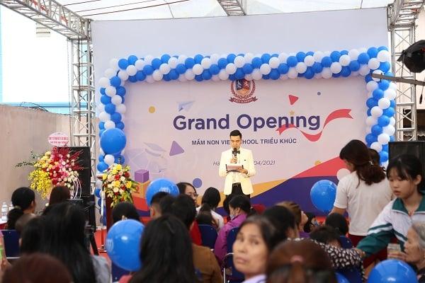 Grand Opening Mầm non Vietschool Triều Khúc 2021