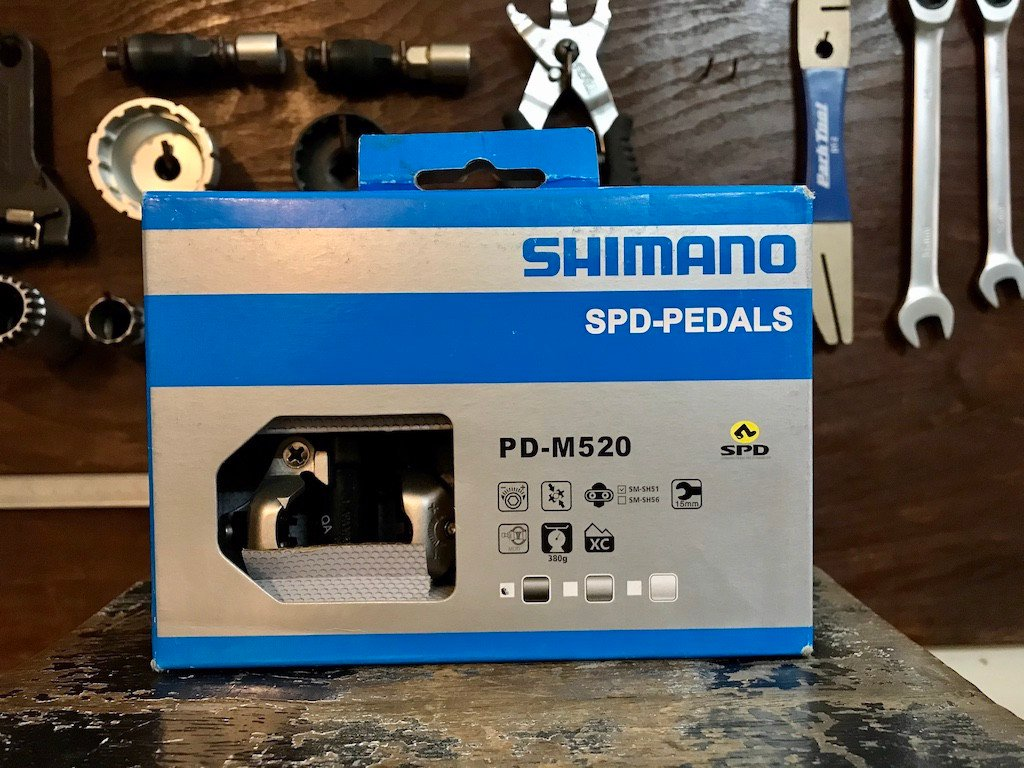 Pedal can MTB Shimano PD-M520