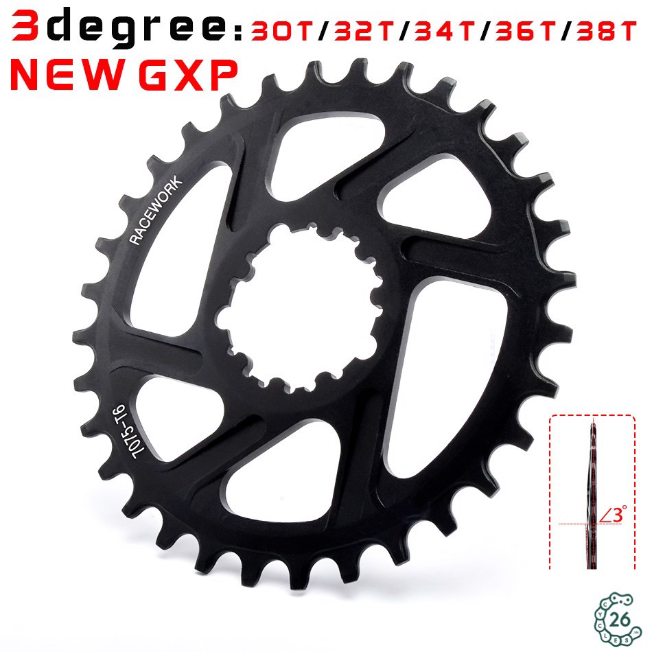 Dĩa Narrow Wide cho giò dĩa Sram Direct Mount