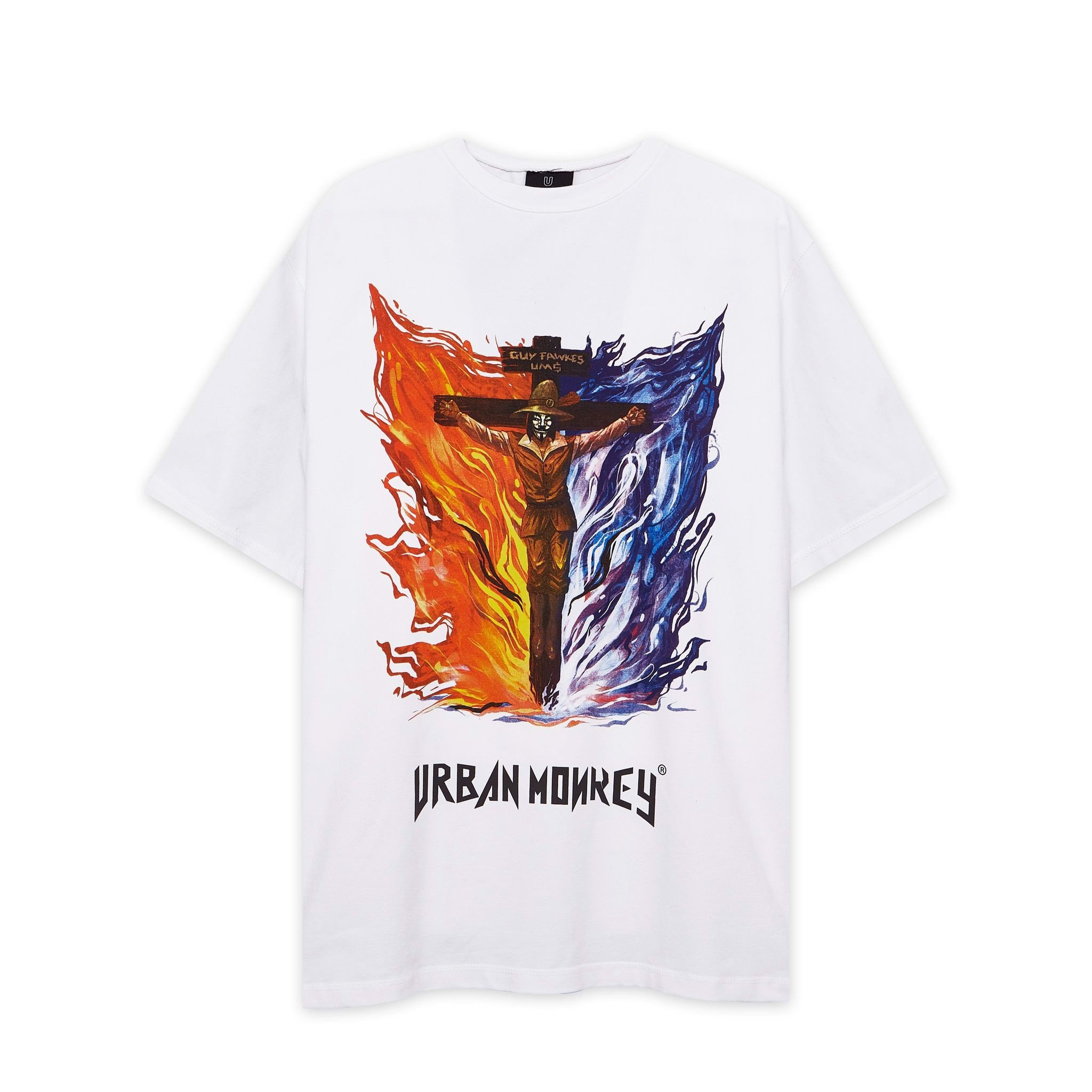 GUY FAWKES TEE WHITE < TRẮNG >