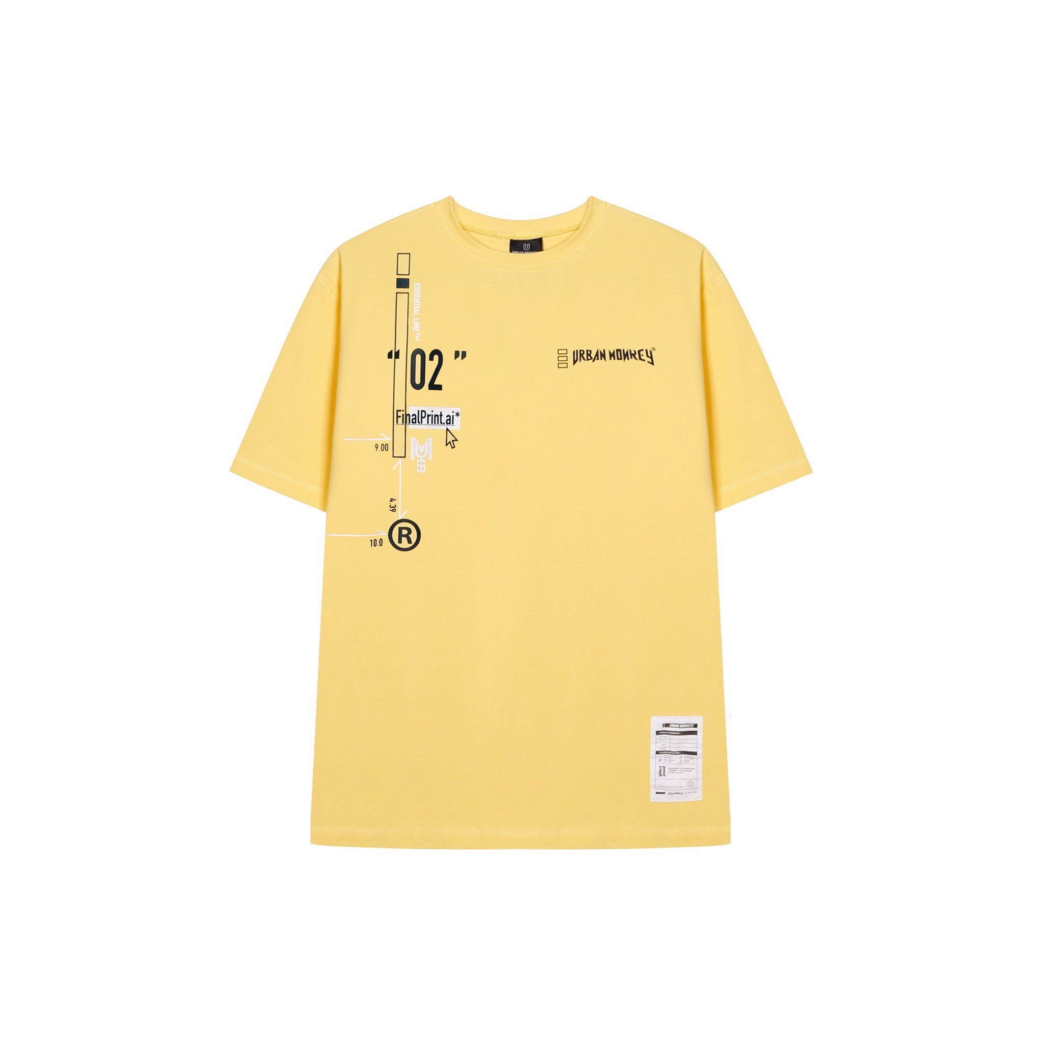 ESSENTIAL TEE YELLOW < VÀNG >