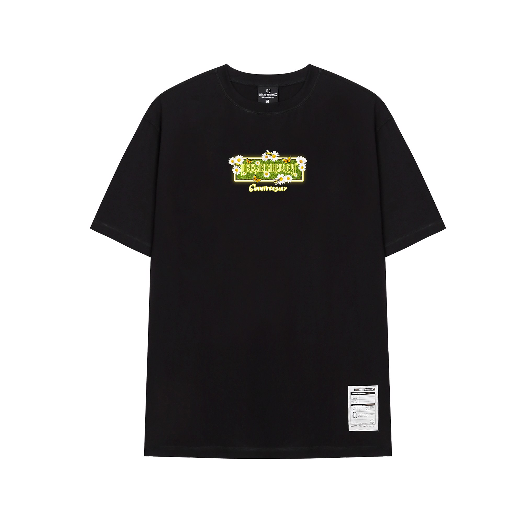 ANNI 6TH BLACK TEE