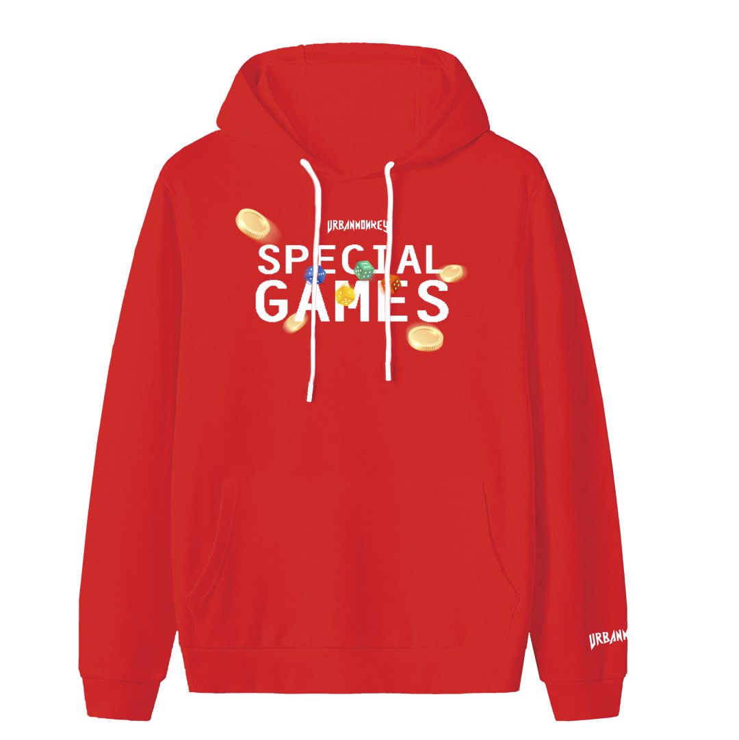 SPECIAL GAME HOODIE RED