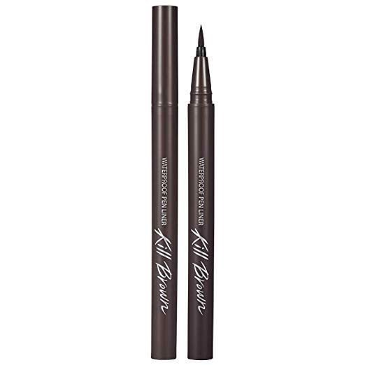 Viền Mắt CLIO WATERPROOF PEN LINER KILL BROWN ORIGINAL 06 GRAY BROWN