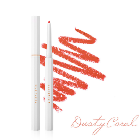 (Gift) Chì Kẻ Viền Môi DEAR DAHLIA PARADISE PERFECT LIP DEFINING PENCIL (DUSTY CORAL) 3.8g