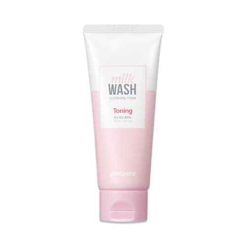 Sữa Rửa Mặt PERIPERA MILK WASH CLEANSING FOAM #1 MILK-TONING