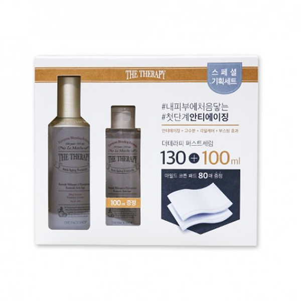 Bộ Dưỡng Phục Hồi Da THEFACESHOP THE THERAPY FIRST SERUM SPECIAL SET ( 3items)