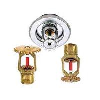 Upright, Pendent, and Recessed Pendent Sprinklers