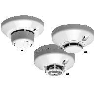 Low-Profile Plug-in Smoke/Heat Detectors