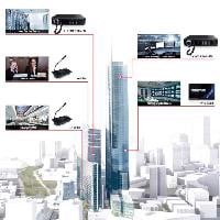 X-618 Digital Public Address/Voice Alarm System