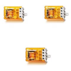 27 Series – Step Relays 10A – Rơ le bước Finder 10A