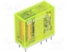 50 Series, Safety Relay, 24 VDC, DPDT, Through Hole, 8 A, Solder