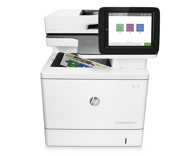 E57540DN HP Color LaserJet Managed MFP E57540dn
