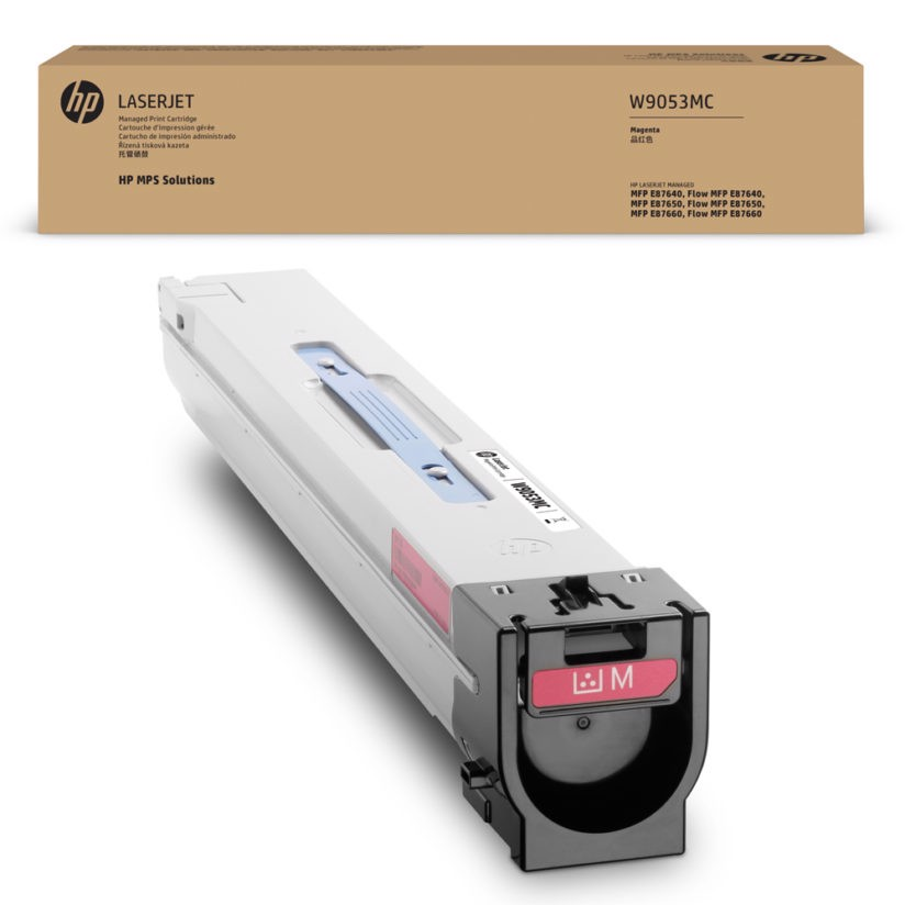 W9053MC – HP Magenta Managed LaserJet Toner