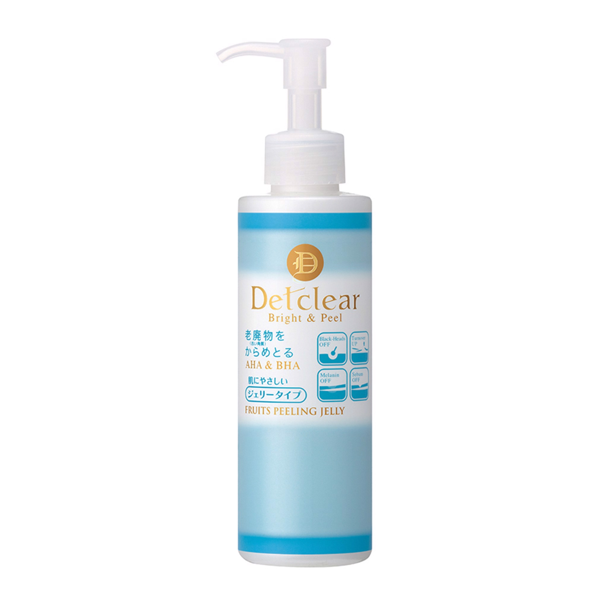 Gel tẩy da chết Detclear Bright & Peel (180ml)