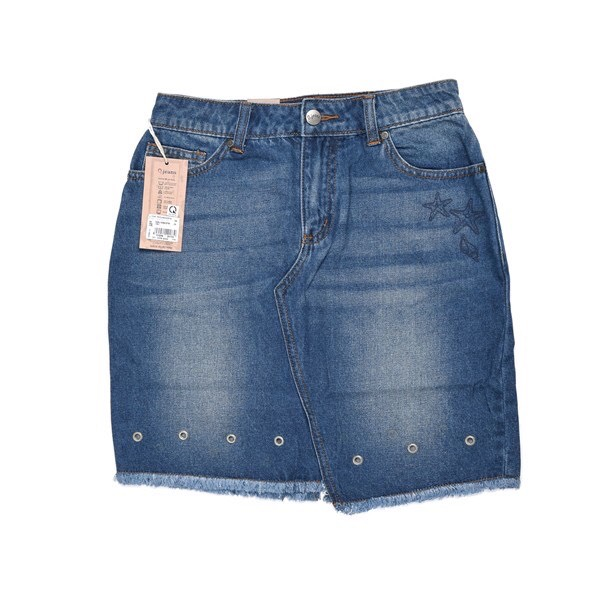 Chân váy Jeans nữ Ojeans - 5VSJ40433FW