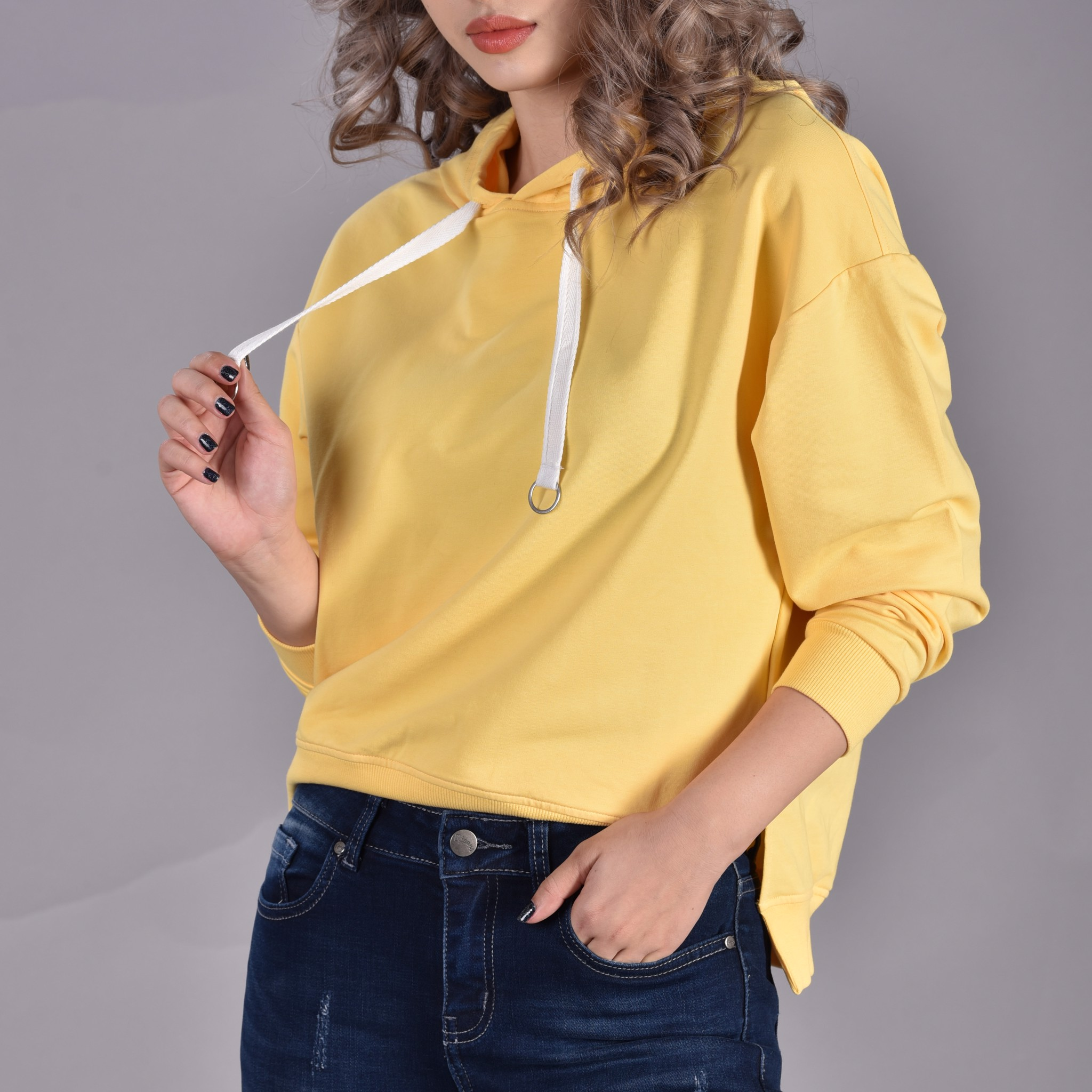Áo Hoodie Chui Đầu Nữ O.jeans - 5AHS840776FW