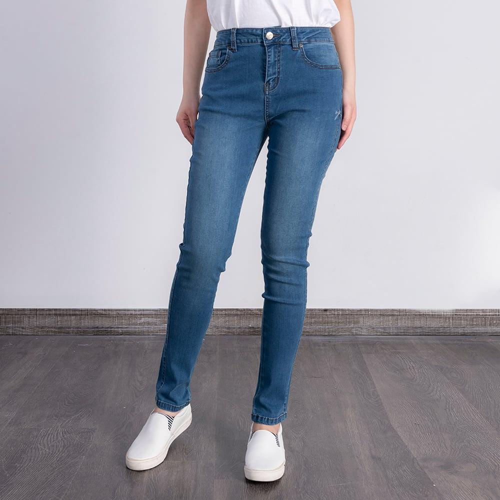 Quần Jeans Nữ - Slim OJEANS - 5QJD30335BW
