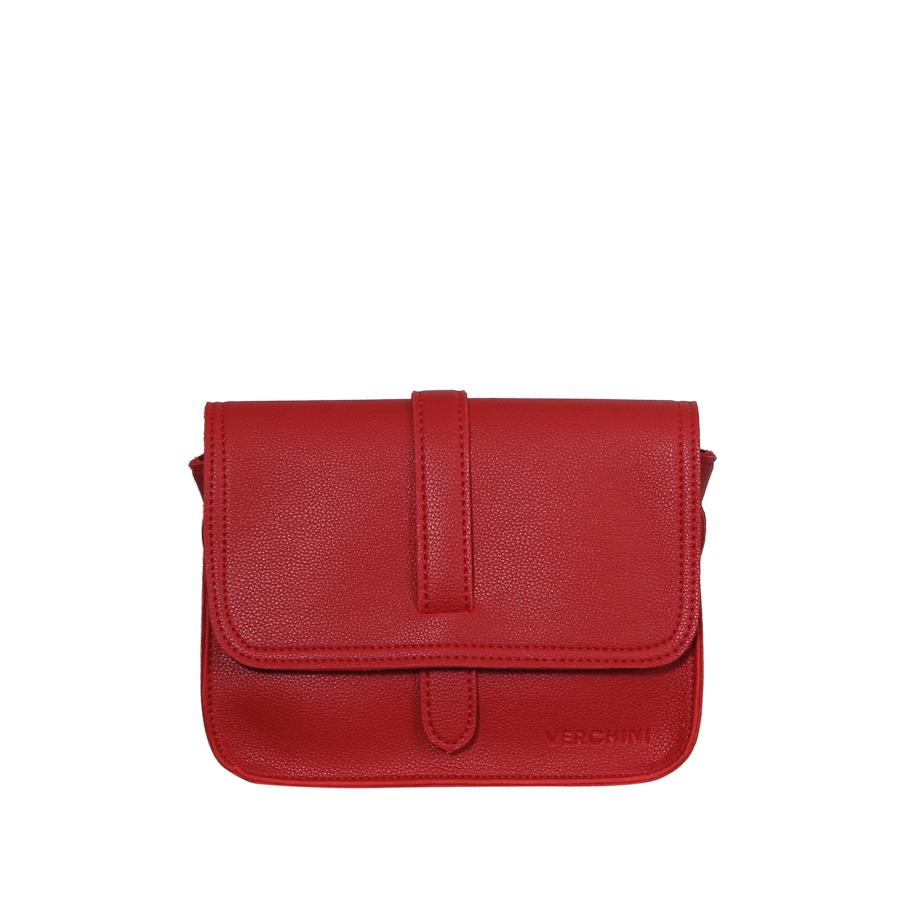 Túi xách thời trang Verchini nắp phối nịt