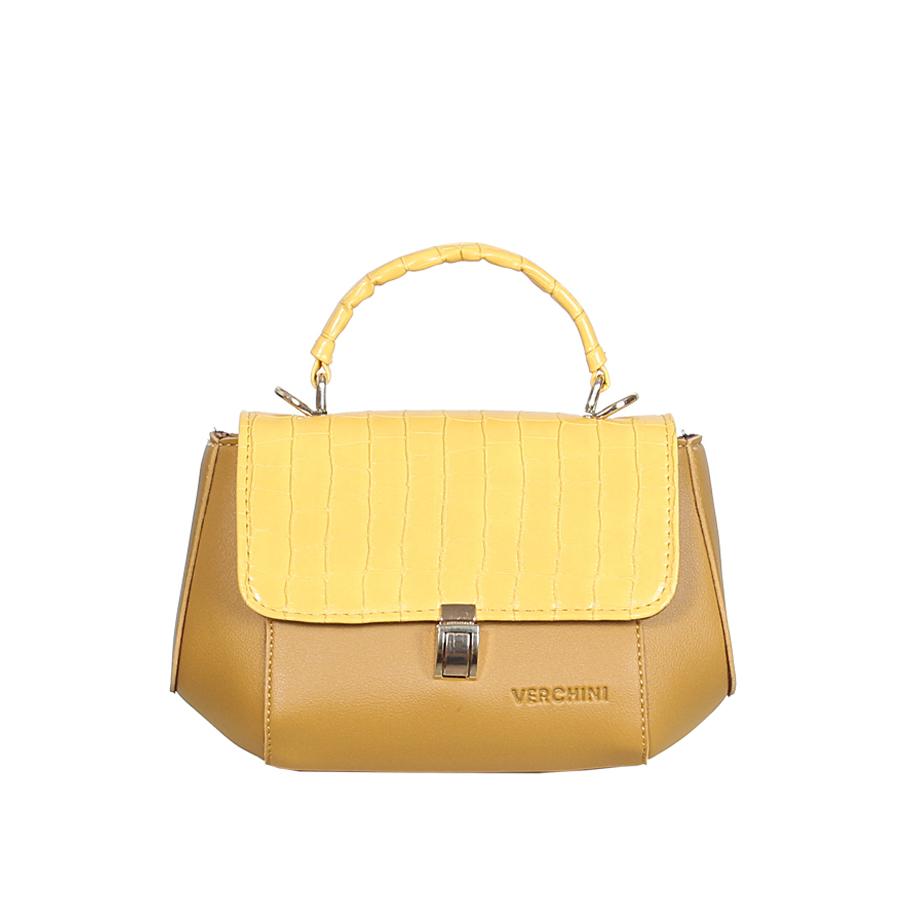 Túi xách thời trang Verchini hông bè phối màu