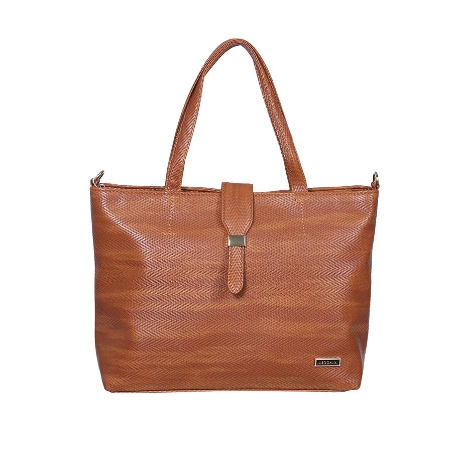 Túi xách thời trang Verchini bigsize phối nịt luồn