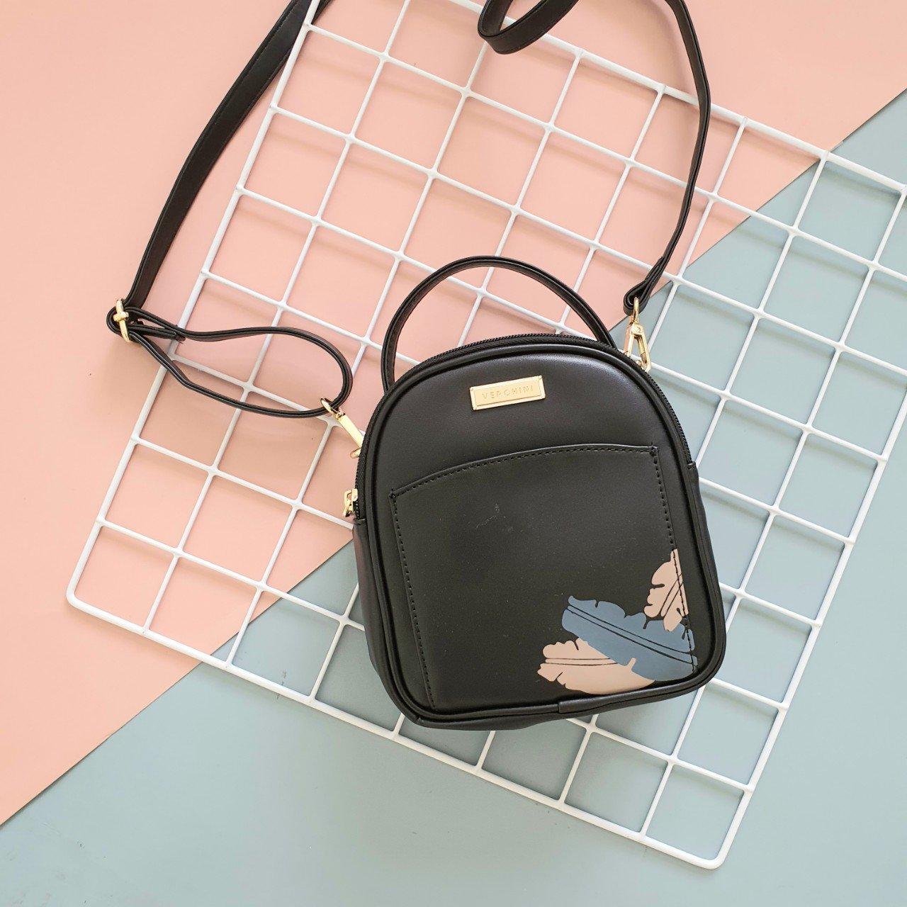 Túi xách thời trang Verchini 1 quai dây kéo vòng