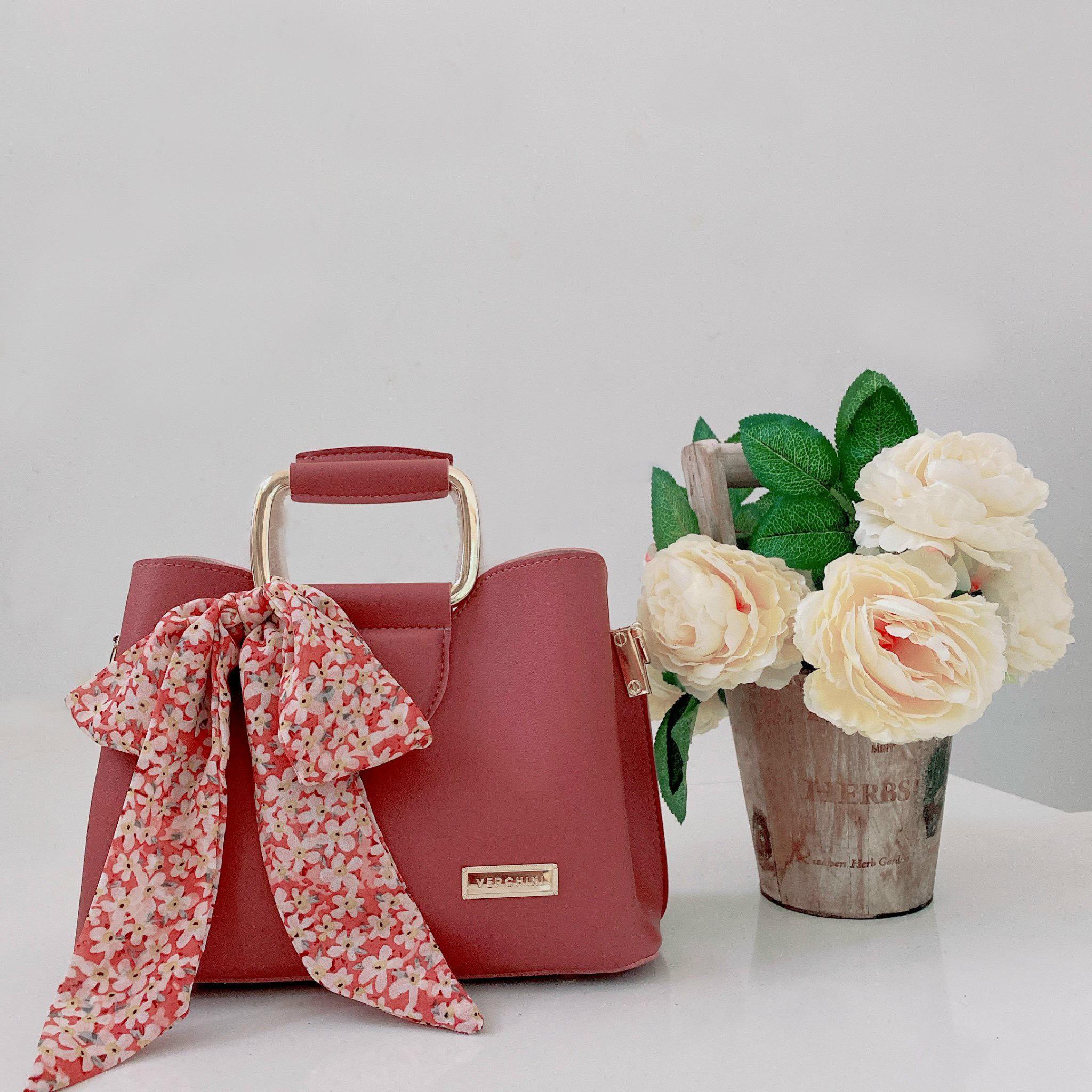 Túi xách thời trang Verchini ba ngăn