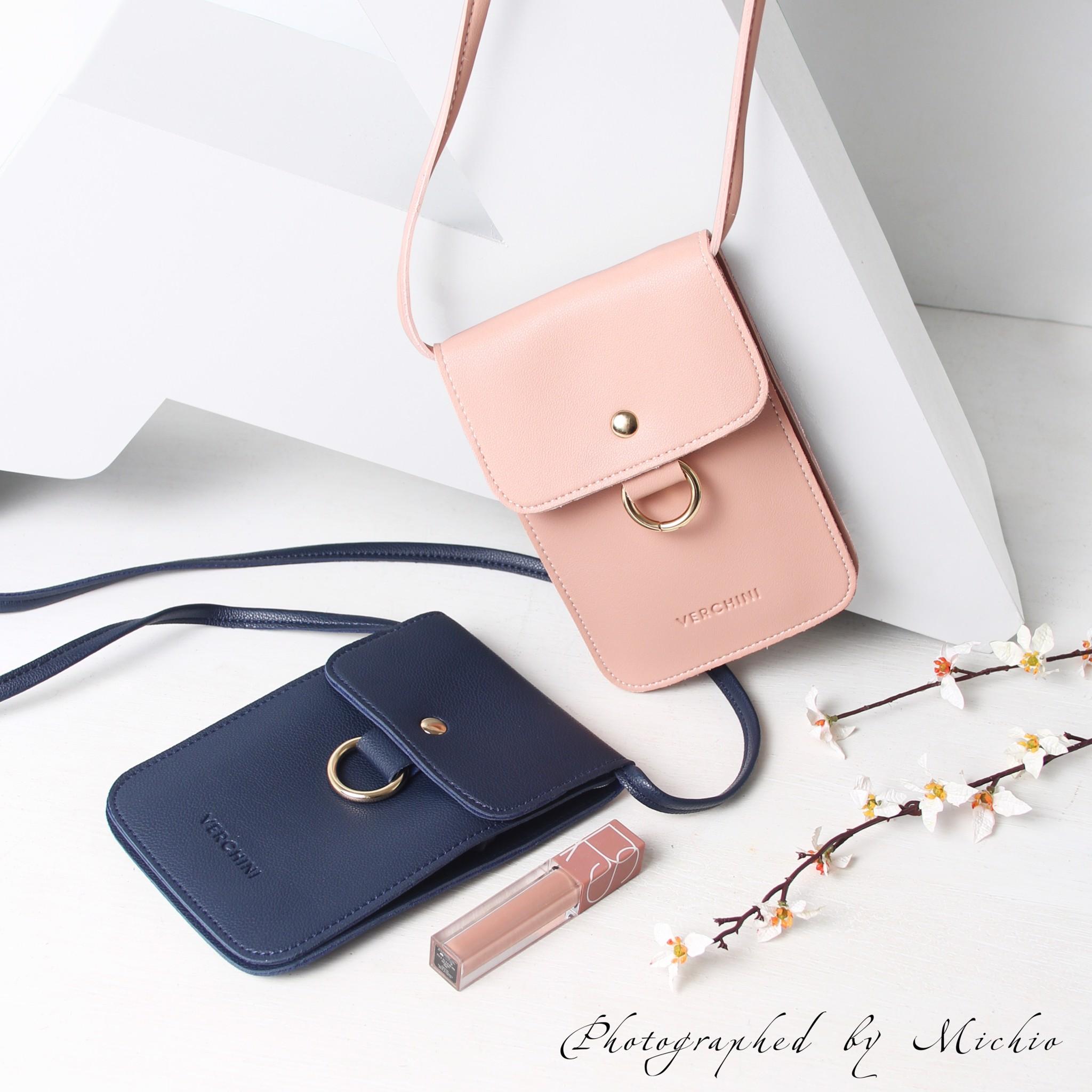 Túi điện thoại thời trang Verchini phối khoen