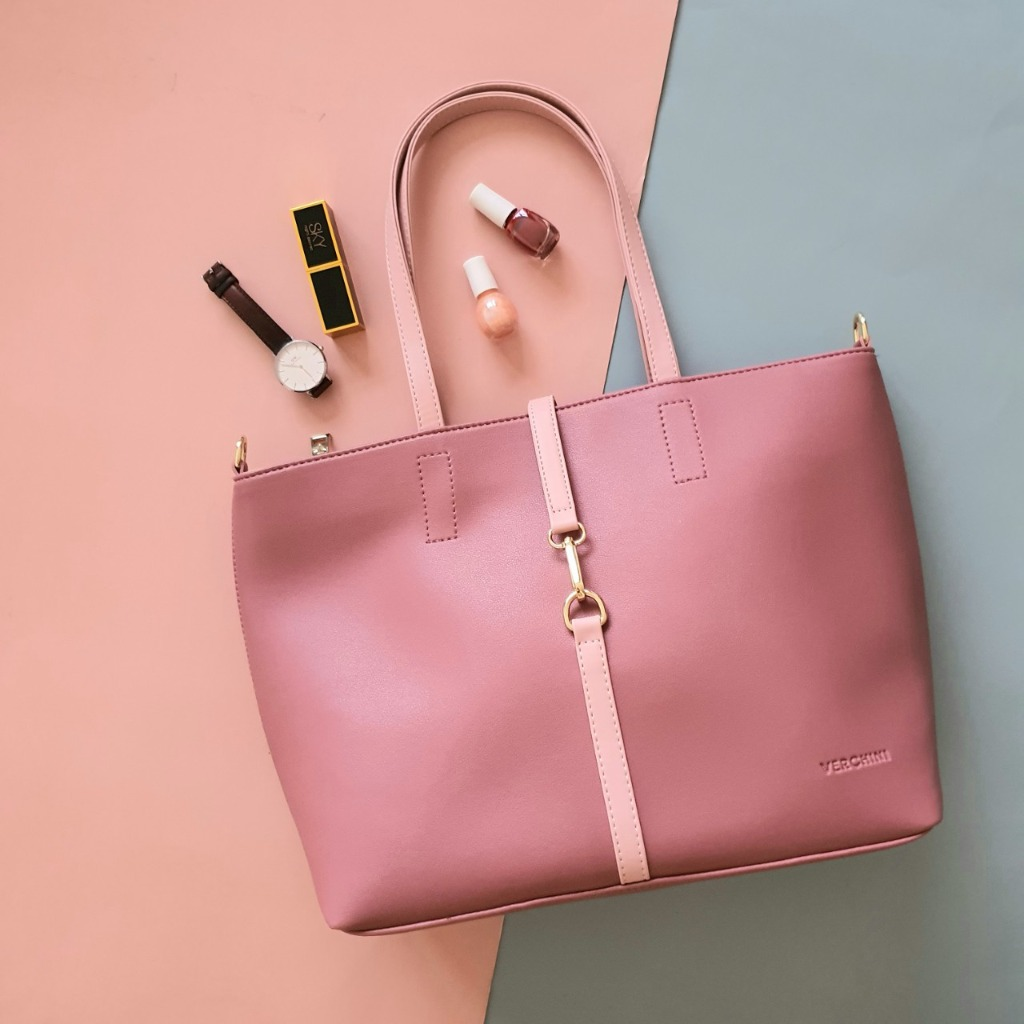 Túi xách thời trang Verchini bisgsize phối khóa