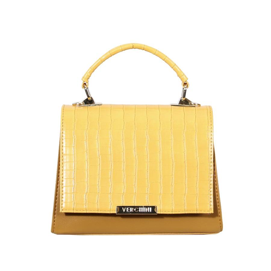 Túi xách thời trang Verchini nắp phối màu