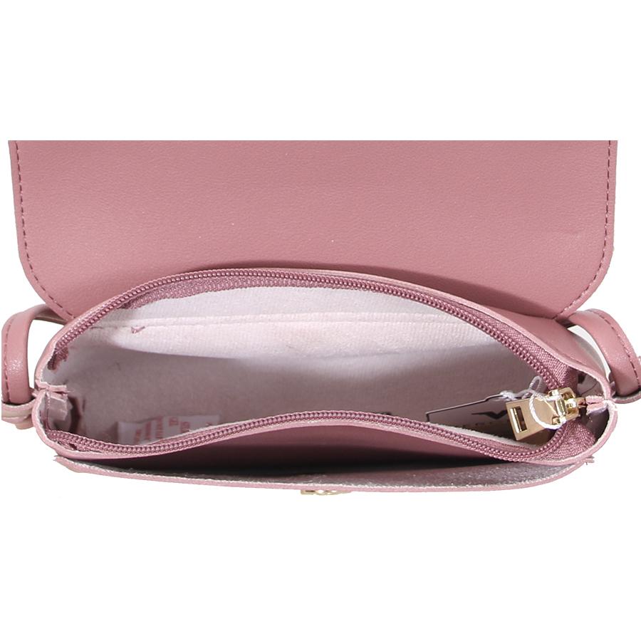 Túi xách thời trang Verchini phối nịt nắp vát