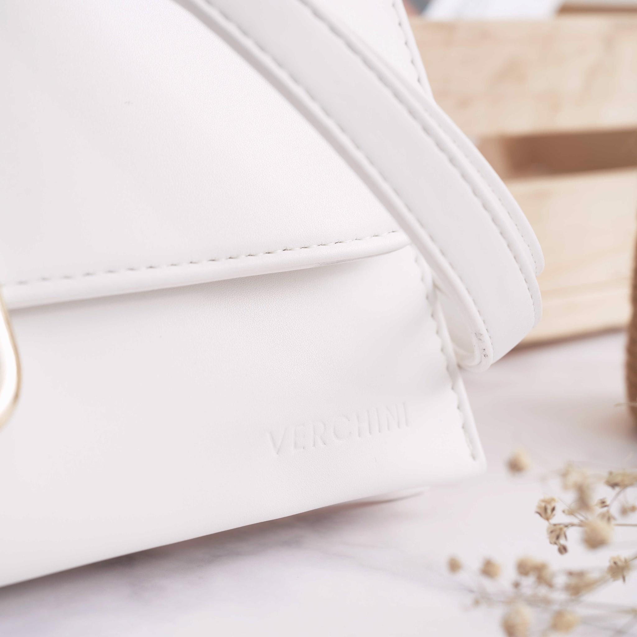 Túi xách thời trang Verchini Túi CN 3 ngăn khóa Oval