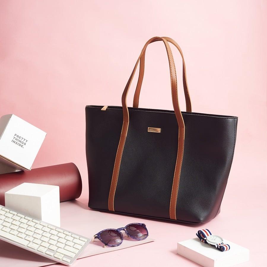 Túi xách thời trang Verchini bisgsize phối dây