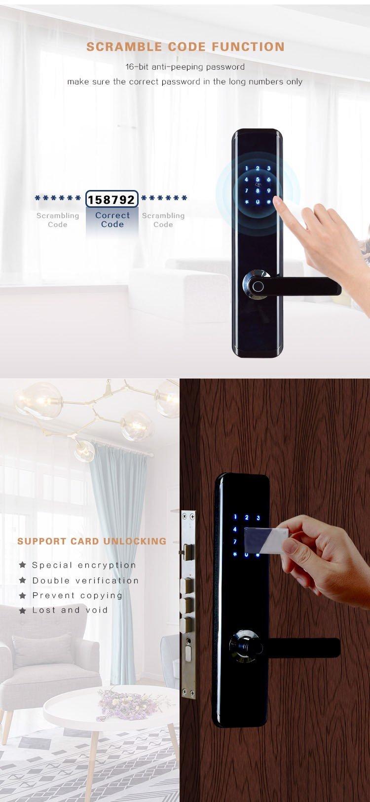 HPS- 3372 ( TT21 )- Khóa cửa vân tay wifi Homeprosec HPS- 3372 ( TT21 )