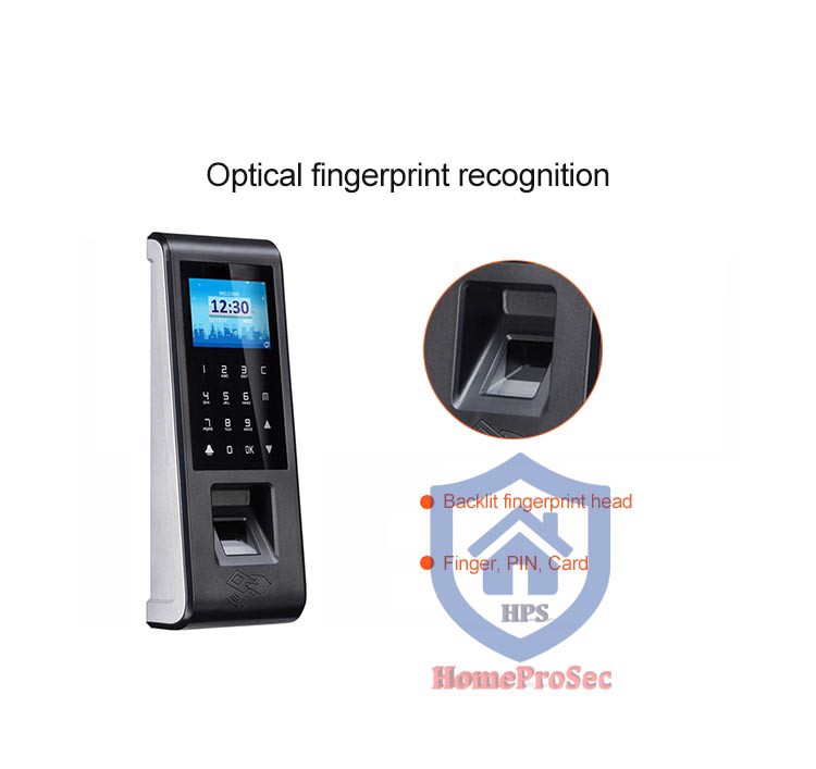 HPS- F70- Đầu đọc vân tay trong nhà HomeProSec HPS- F70