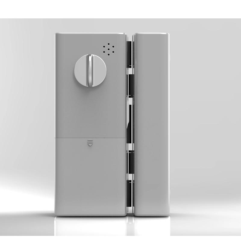 HPS- G200R- Khóa vân tay cửa kính- APP điện thoại HomeProSec