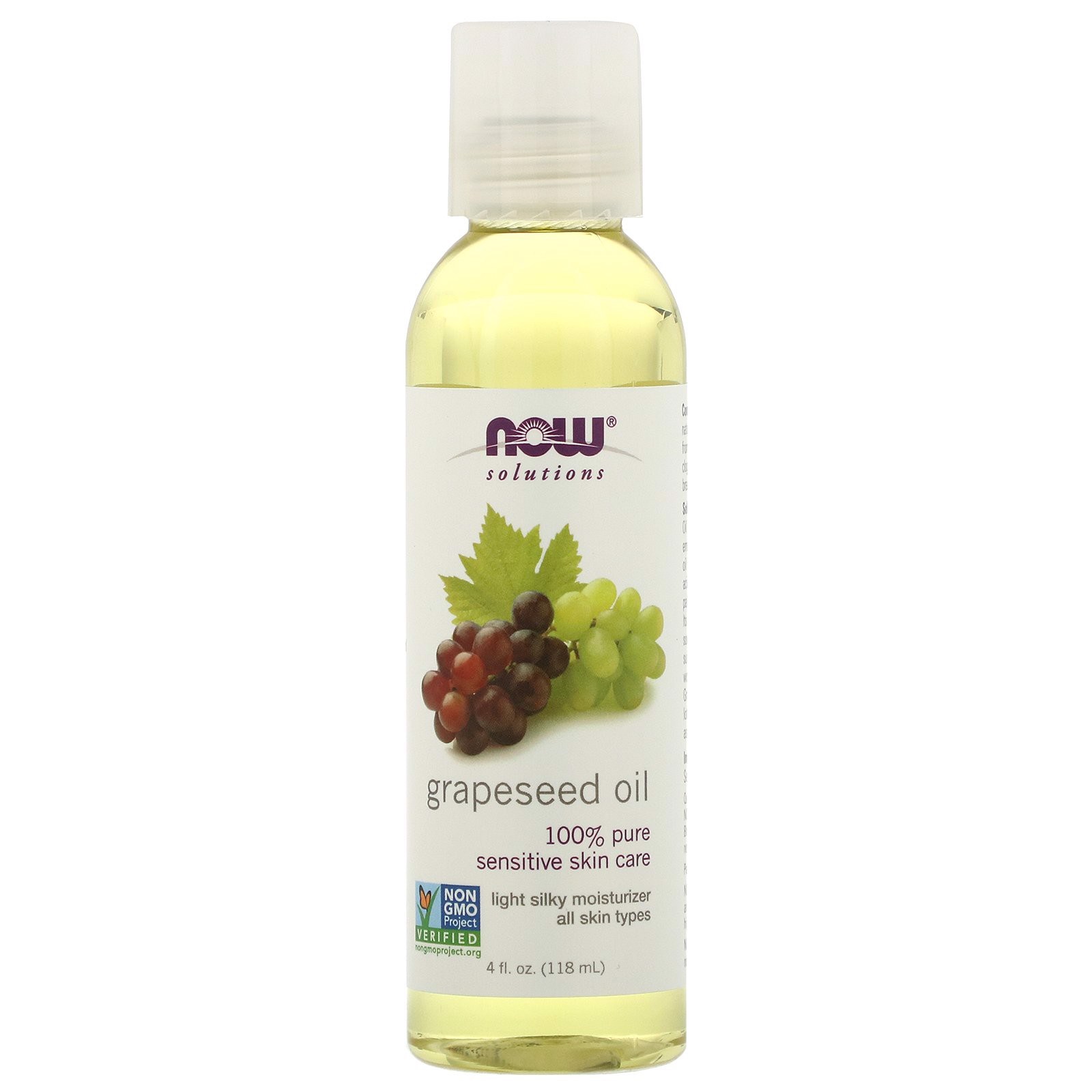 NOW - Grapeseed Oil 118ml