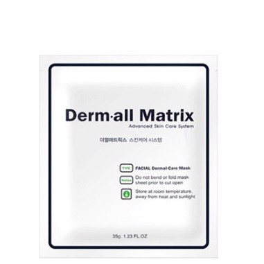 DERMALL MATRIX - Facial Dermal care Mask 1 sheet