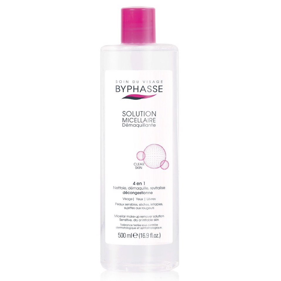 BYPHASSE - Solution Micellaire Water 500ml
