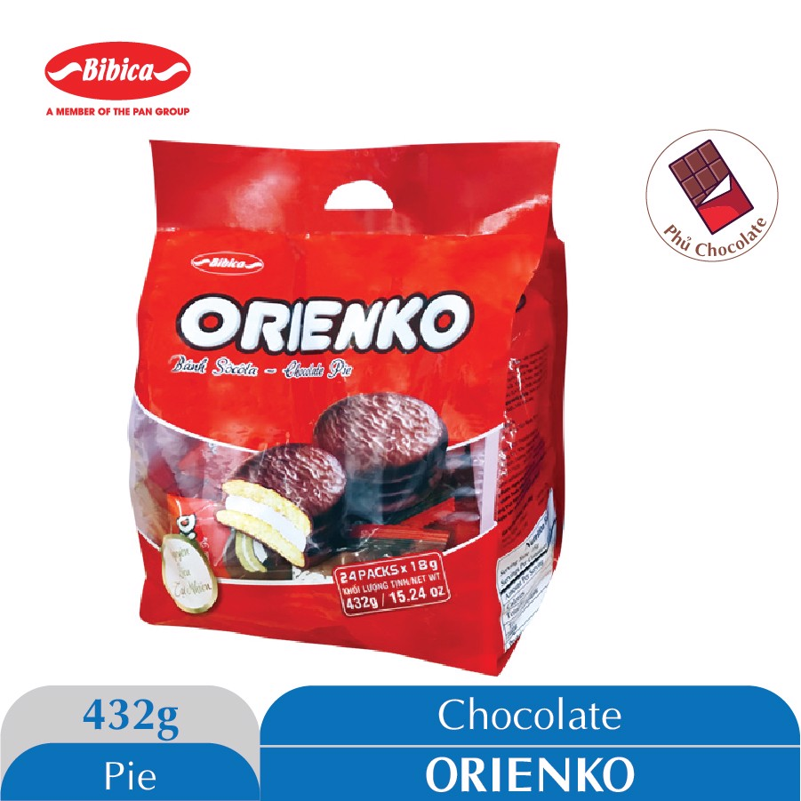Bánh Chocolate Orienko 432g