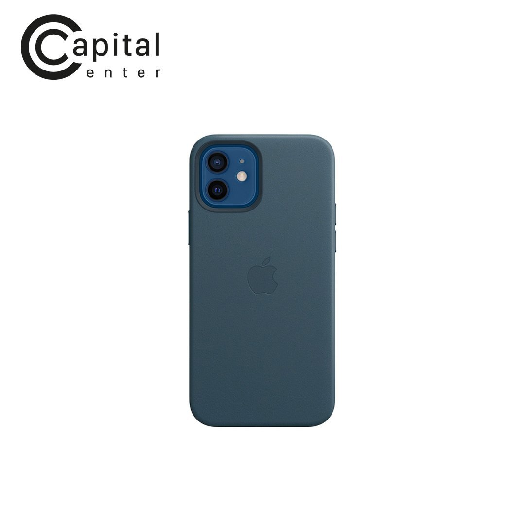iPhone 12 | 12 Pro Leather Case with MagSafe - Baltic Blue (MHKE3ZA/A)