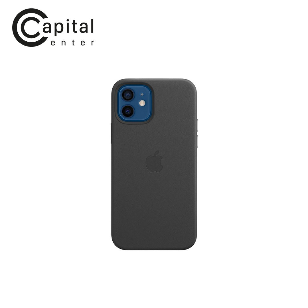 iPhone 12 | 12 Pro Leather Case with MagSafe - Black (MHKG3ZA/A)
