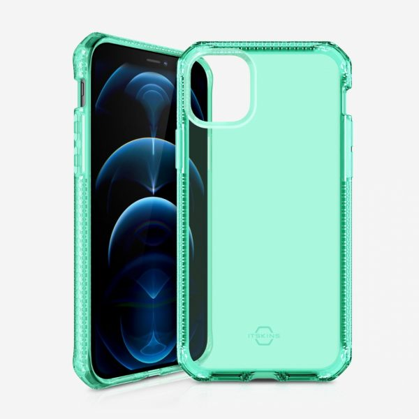 Ốp Itskins SPECTRUM CLEAR ANTIMICROBAL iPhone 12/12 Pro