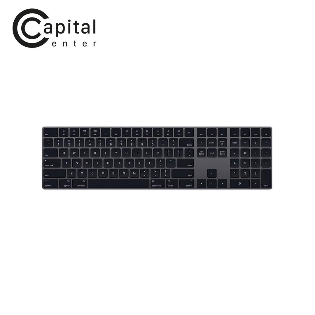 Bàn phím không dây Apple Magic Keybroad With Numeric Keypad - US ENGLISH - SPACE GREY (MRMH2ZA/A)