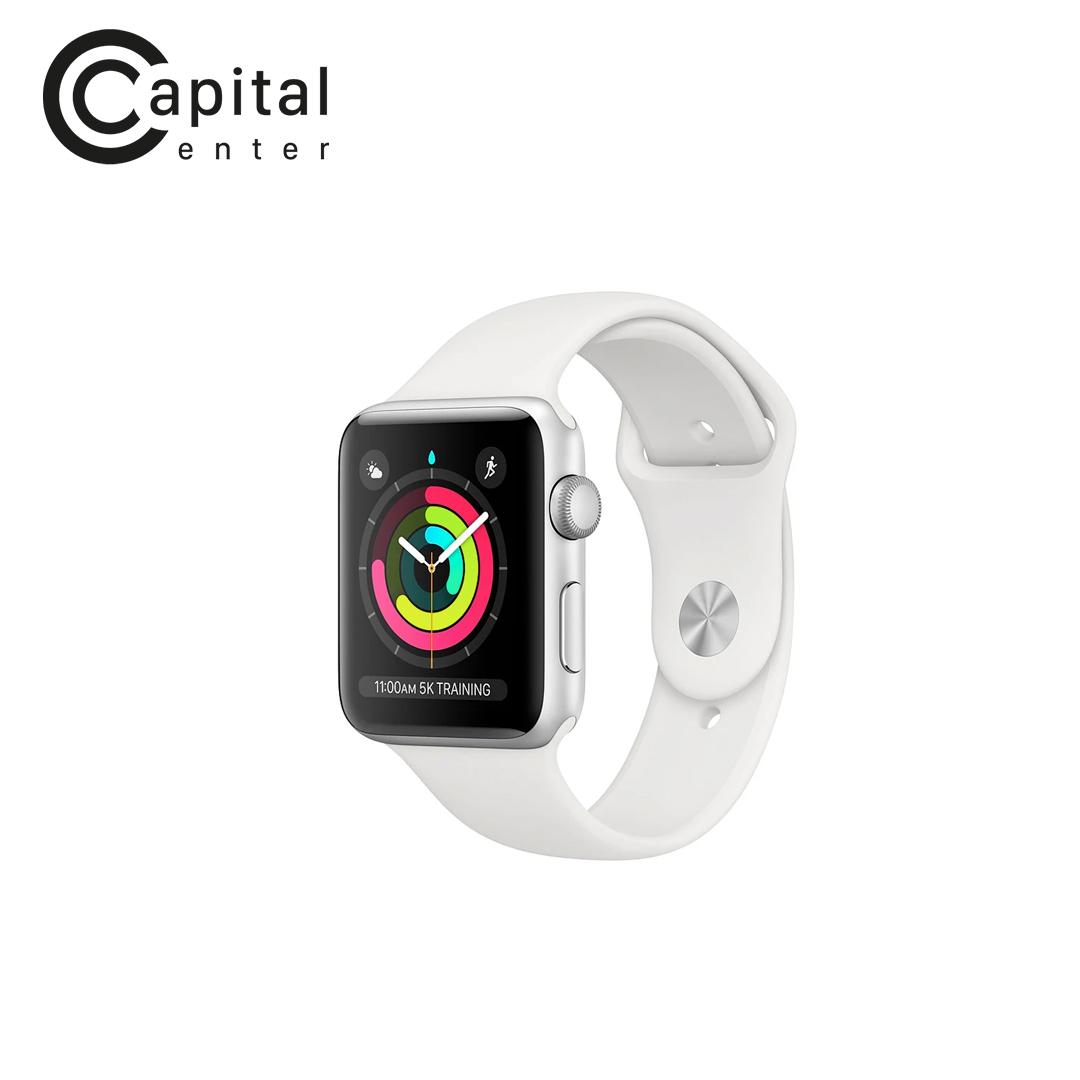 Apple Watch SE GPS 40mm Viền nhôm / Dây cao su - Viền Trắng / Dây Trắng (MYDM2VN/A)